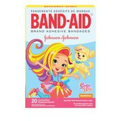 Band-Aid Brand Adhesive Bandages Featuring Nickelodeon Sunny Day, Assorted Sizes