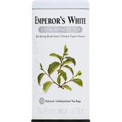 The Republic of Tea 100% White Tea, Emperor's White, Bags