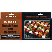 Mr Bar B Q Kabob Rack and Skewers