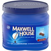 Maxwell House Half Caff Medium Roast Ground Coffee