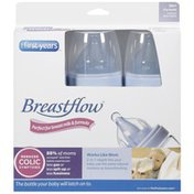 The First Years 9 Ounce Bpa Free Breastflow Bottles