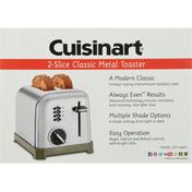 Cuisinart Toaster, 2-Slice, Classic Metal
