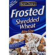 Best Choice Shredded Wheat, Frosted, Bite Size