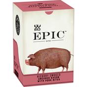 Epic Uncured Bacon Protein Bites, Keto Friendly, Whole30, 8 Pouches