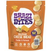 Brazi Bites Cheddar & Parmesan, Brazilian Cheese Bread