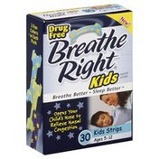 Breathe Right Nasal Strips, Ages 5-12