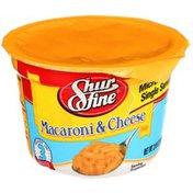 Shurfine Microwave Cup Macaroni & Cheese