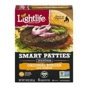 Lightlife Smart Patties Meatless Original Burger With Quinoa - 4 CT
