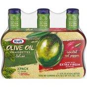 Kraft Italian & Roasted Red Pepper Olive Oil Vinaigrette Variety Pack