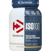 Dymatize ISO-100 Hydrolyzed Whey Protein Powder Vanilla 1.6 LBS