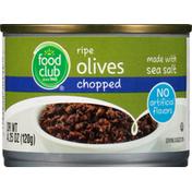 Food Club Chopped Ripe Olives