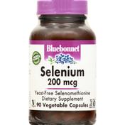 Bluebonnet Selenium, 200 mcg