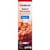 Food Lion Pie Crusts, Rolled, Regular