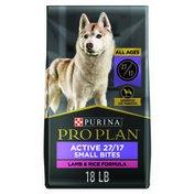 Purina Pro Plan High Protein, Small Bites Dog Food, SPORT 27/17 Lamb & Rice Formula