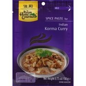 Asian Home Gourmet Spice Paste, for Indian Korma Curry, Mild