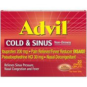 Advil Cold and Sinus Relief Medicine, Cold and Sinus Relief Medicine