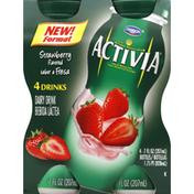 Activia Dairy Drink, Strawberry