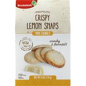 Brookshire's Cookies, Crispy Lemon Snaps