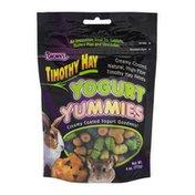 Brown's Yogurt Yummies Small Extreme Timothy Hay Animal Treats 4.0 oz BAG