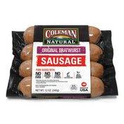 Coleman Original Bratwurst Pork Sausage