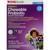 CVS Health Probiotic, Children, Chewable Tablets, Grape