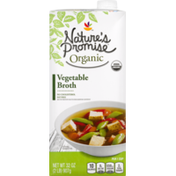 Nature's Promise Vegetable Broth, Organic