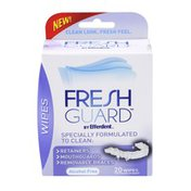 Fresh Guard Alcohol Free Wipes - 20 CT