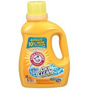 Arm & Hammer Plus the Power of OxiClean Stain Fighters Clean Meadow Laundry Detergent