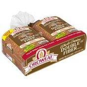 Oroweat Whole Grains Double Fiber Twin Pack