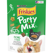 Purina Friskies Made in USA Facilities Cat Treats, Party Mix Picnic Crunch