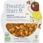 Gerber Organic Veggie Entree Bowls