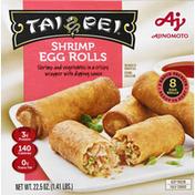 Tai Pei Shrimp Egg Rolls w/Sauce Frozen Asian Appetizers