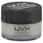 NYX Professional Makeup Concealer, Full Coverage, Green CJ12