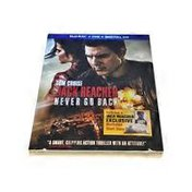 Paramount Farms Combo Pack Jack Reacher Never Go Back Blu Ray
