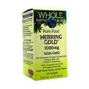 Whole Earth & Sea Pure Food Herring Gold Non-gmo Dietary Supplement, 500 Mg