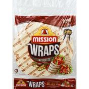 Mission Wraps, Mesquite Flavored