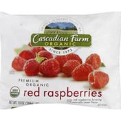 Cascadian Farm Red Raspberries, Premium