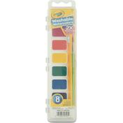 Crayola Washable Watercolors, Nontoxic, 3+
