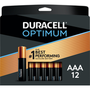 Duracell Batteries, Alkaline, AAA, 12 Pack