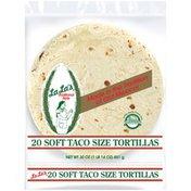 La La's Traditional Style Soft Taco Size Tortillas