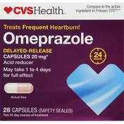 CVS Health Omeprazole Magnesium Delayed Release Capsules, Acid Reducer