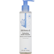 DERMA E Facial Cleanser, Gentle, Hydrating