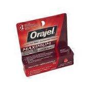 Orajel Maximum Strength Liquid Toothache Pain Reilief