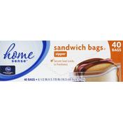 Kroger Sandwich Bags, Zipper