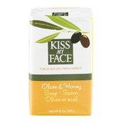 Kiss My Face Soap Olive & Honey