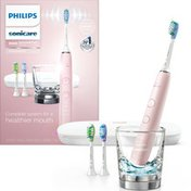 Philips Sonicare DiamondClean Smart Electric, Rechargeable Toothbrush for Complete Oral Care – 9300 Series, Pink, HX9903/21