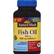 Nature Made Fish Oil, 1000 mg, Liquid Softgels