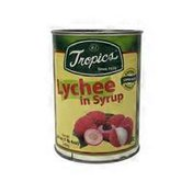 Tropics Lychees in Syrup