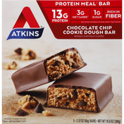 Atkins Protein Meal Bar, Chocolate Chip Cookie Dough