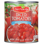 Our Family Diced Tomatoes